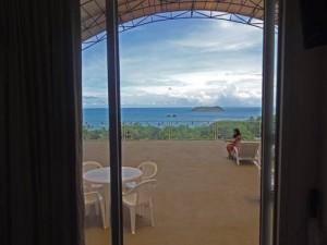 El Faro Beach Hotel (vista dalla terrazza)