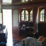 Villa ( zona relax pavimento in legno)