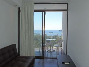 El Faro Beach Hotel (vista dalla camera)