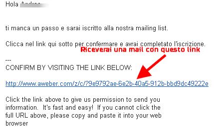 Conferma la tua email